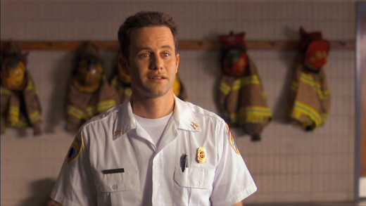 Caleb Holt (Kirk Cameron) is captain at the Albany Fire Dept. in Georgia.