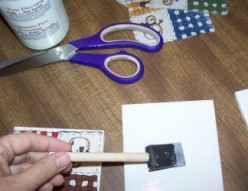 Using Mod Podge for your Artworks