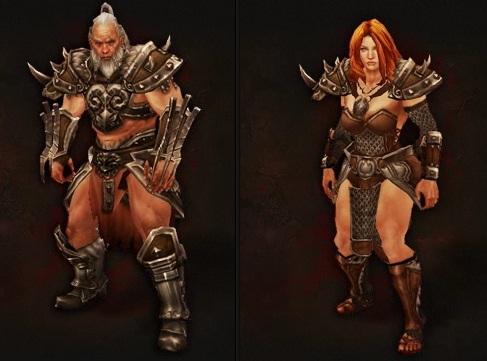 Barbarians in Diablo 3