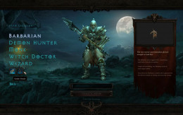 Diablo 3 Barbarian Character Creation