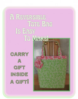 Make An All-In-One Gift and Tote Bag