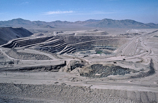 The largest open work mine in the world.