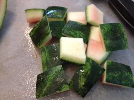 Don't toss out the watermelon rind. Make some rind pickles. Check out :www.thebittenword.com for a great recipe.