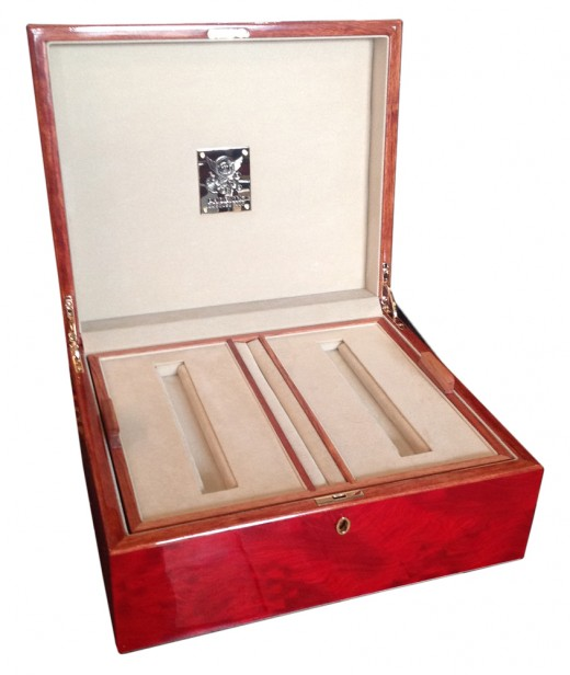 Year of the Dragon Presentation Box - Shown in Open Position