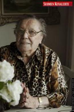 Lydia Wideman-Lehtonenis, 92