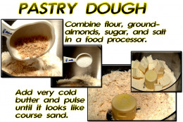 Pastry dough is a lot more simple to make than it sounds!