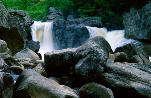 Wilmington Flumes, Adirondack State Park,  New York