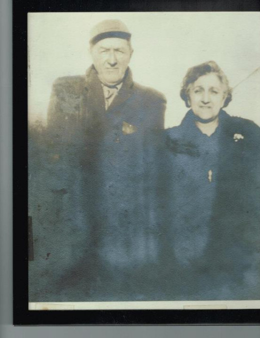 My Paternal Grandparents, Hugh Charles Murray and Mary Jessie Doucette