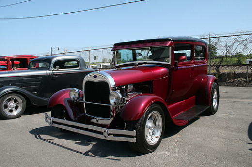 1929 Ford Model A Tudor street rod