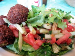 Black Bean Falafel Recipe. Leftover Mexican Refried Beans Become Israeli Falafel!