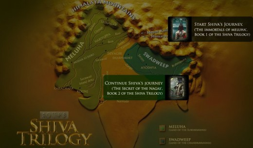 The Shiva Triology Immortals of Meluha Secret of the Nagas Oath of the Vayuputras