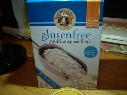 Gluten-free flour is a pantry staple.
