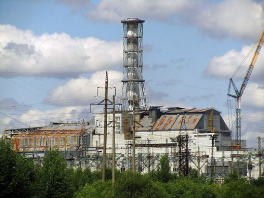 What was once the pride of Russia's power production plants.