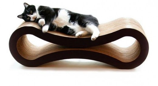 Cat's love to lounge and a scratcher lounge is every cat's ultimate fantasy!
