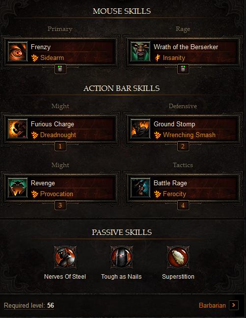 Solo Barbarian Build