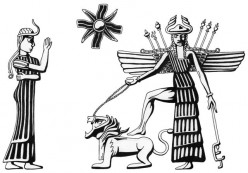 The Goddess Inanna or Ishtar