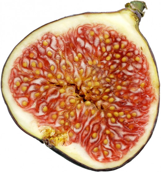 Seasonal figs are great in the morning shake.  A little chopping or smashing is recommended for better mixing.