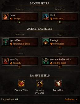 Diablo  Barbarian Tank Build