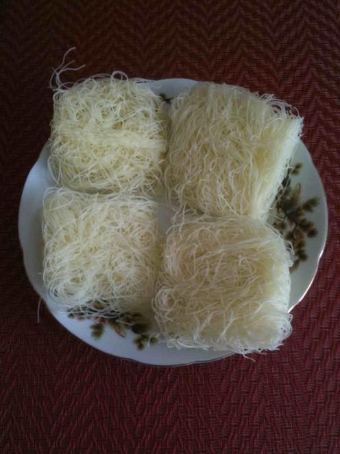 Rice Vermicelli (square rolls)