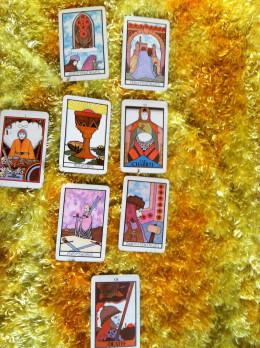 Tarot deck used: Aquarian Tarot by David Palladini