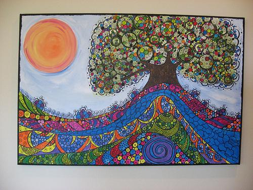 """Tree of Hope"" Breast Cancer Survivor Tree"