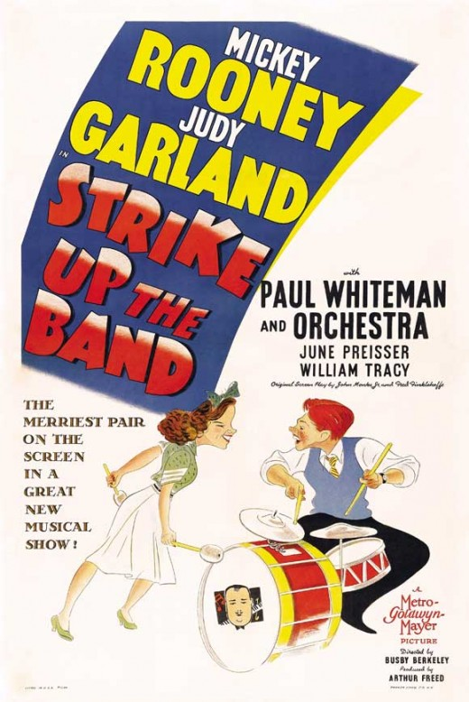 Strike Up the Band (1940) art by Al Hirschfeld