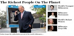 Forbes Top 10 Billionaires list