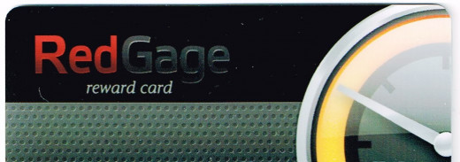 My RedGage card arrived quickly. Easy to use, too.