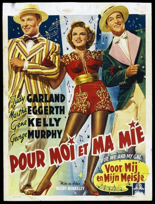 For Me and My Gal (1942) Belgian poster