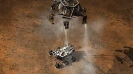 Curiosity Rover - artists rendition