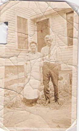 My Great -Grandparents from Ireland, John and Margaret Murray,  parents of Hugh Charles Murray
