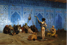 Snake Charmer (1870), oil on canvas painting by Jean-Leon Gerome (1824-1904), 122 cm x 84 cm, currently at Sterling & Francine Clark Art Institute, Williamstown, Massachusetts, United States