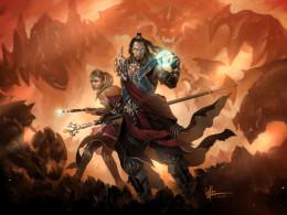 TheWizard in Diablo 3 Conceptual Art