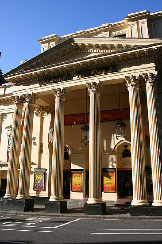 The Lyceum is a haunted theatre with a very gruesome apparition.