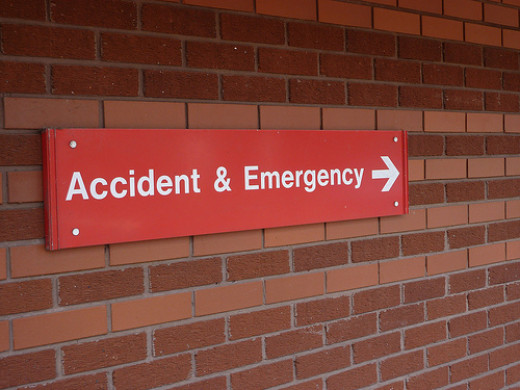 Crisis workers may meet up with you in the A&E department