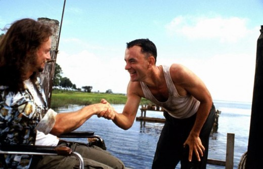 Forrest Gump with Lt Dan