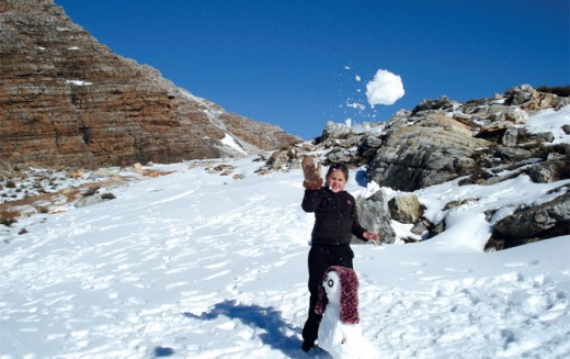 Picture taken by André Smith @ http://blog.getaway.co.za/travel-ideas/6-places-snow-south-africa/