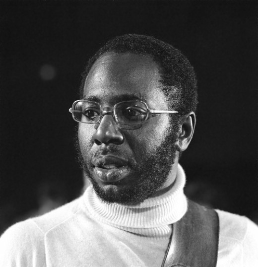 Curtis Mayfield performing on European television in 1972.