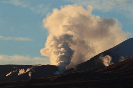 A dormant volcano in New Zealand erupts this week after 100 years of silence.
