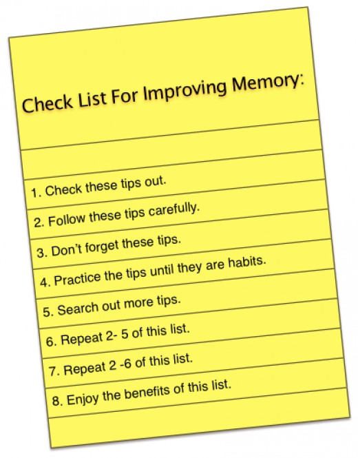 Can we?  Yes!  Improving our memory is possible!