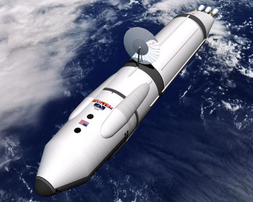 Proposed Antimatter Spaceship for Mars Missions