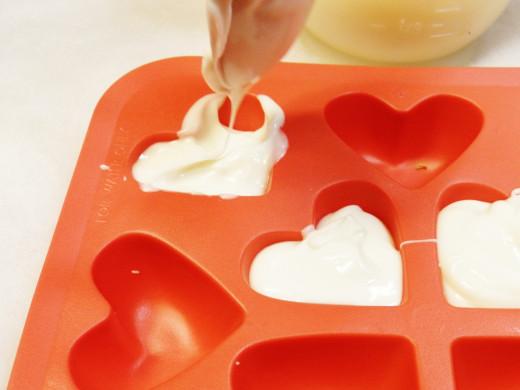 Heart shaped mold