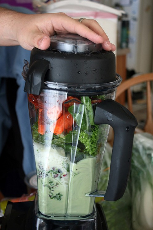 Going green with the VitaMix.