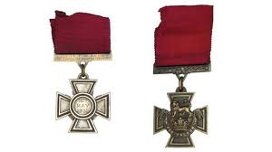 The Victoria Cross for 'Gallantry.'   Most who have been awarded them are already in 'the next world.'