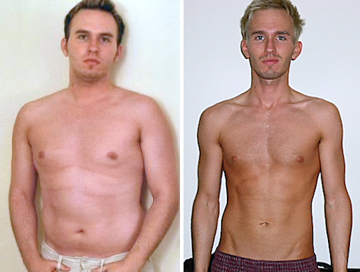 In the left photo I was 24yrs old, overweight and sluggish. In the right photo I was 29yrs, leaner, healthier and feeling younger. Clearly, getting older doesn't have to be a bad thing.
