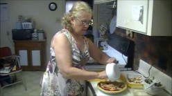 Peaches and Pecan Pie-Recipe and Video Instructions
