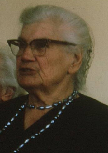 Grandmother Miemie McGregor at age 90