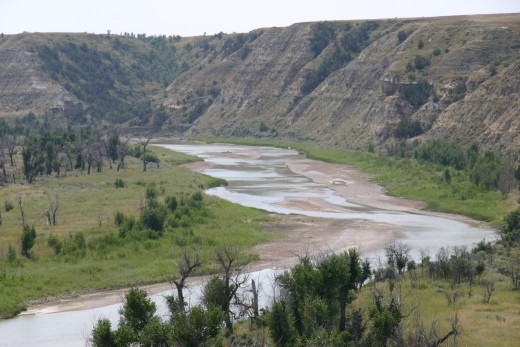 Little Missouri River - Theodore Roosevelt National Park