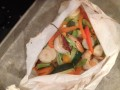 6 Easy Steps To Cooking Shrimp and Vegetables En Papillote