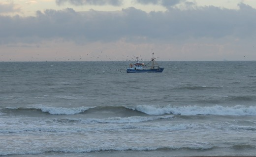 Sea view in Ostend